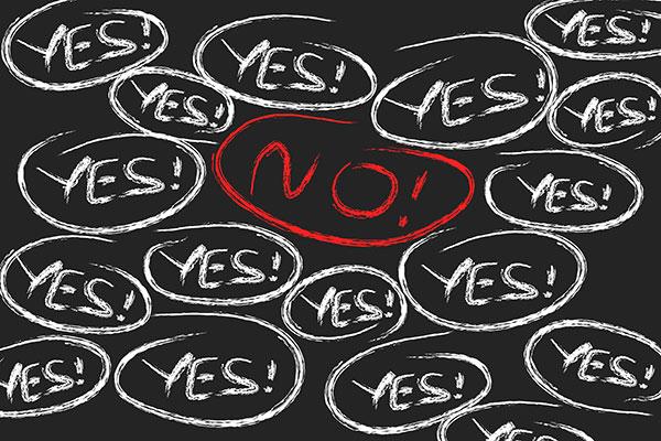 """Say """"YES"""" to """"NO"""": Keep Stress at Bay"""
