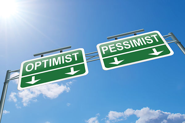 optimism, pessimism or realism
