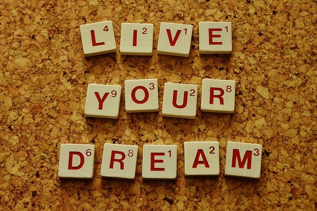 live your dream in scrabble letters blog for the positive psychology people