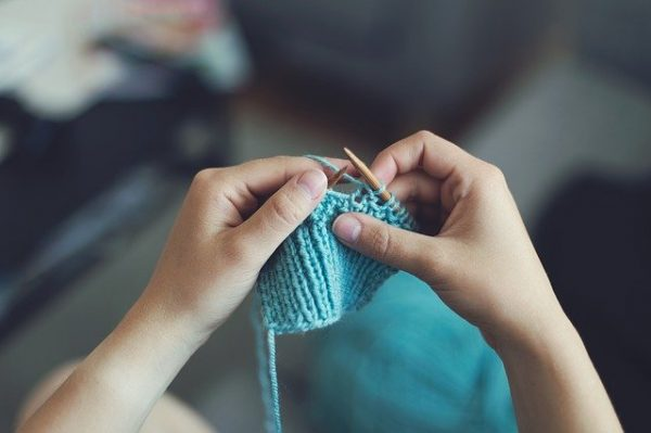 Knit 1, Purl 1, Decrease Stress