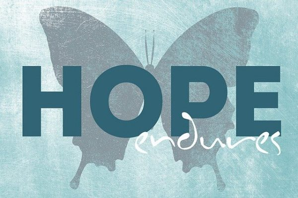 In the Presence of Hope – Is the Power of Everything.