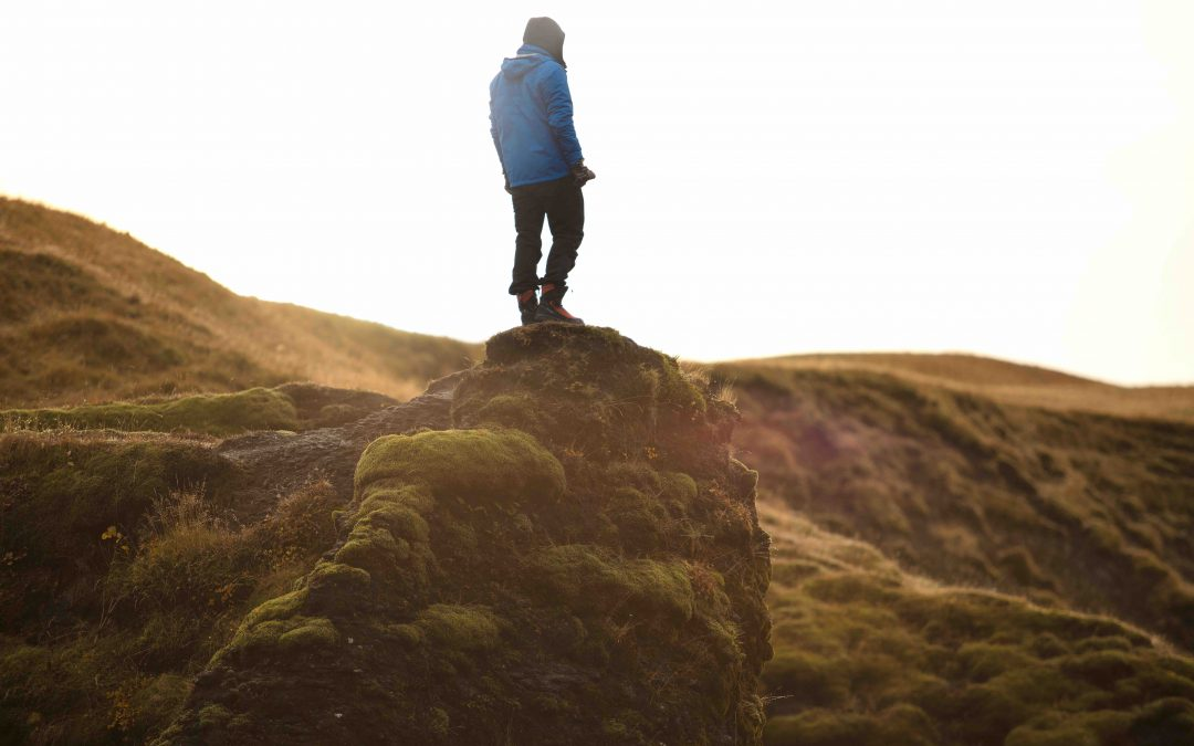 man standing on hillside the positive psychology people blog