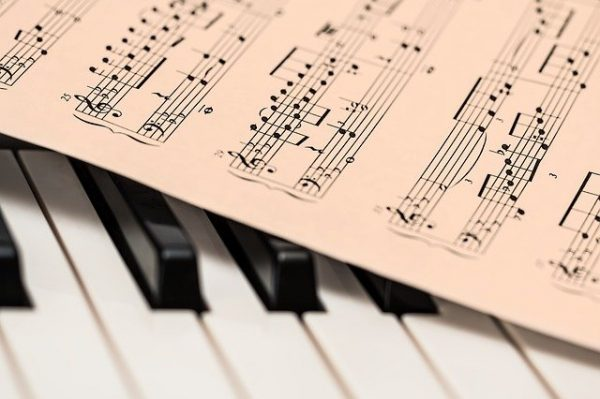 sheet music on a keyboard blog for the positive psychology people