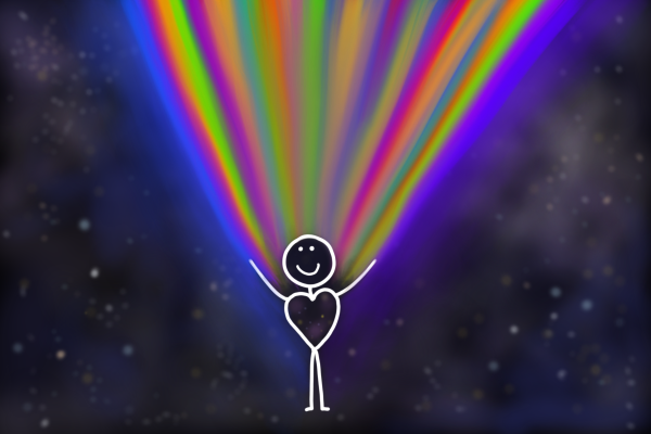 hand drawn image of stick person emiting light blog the positive psychology people